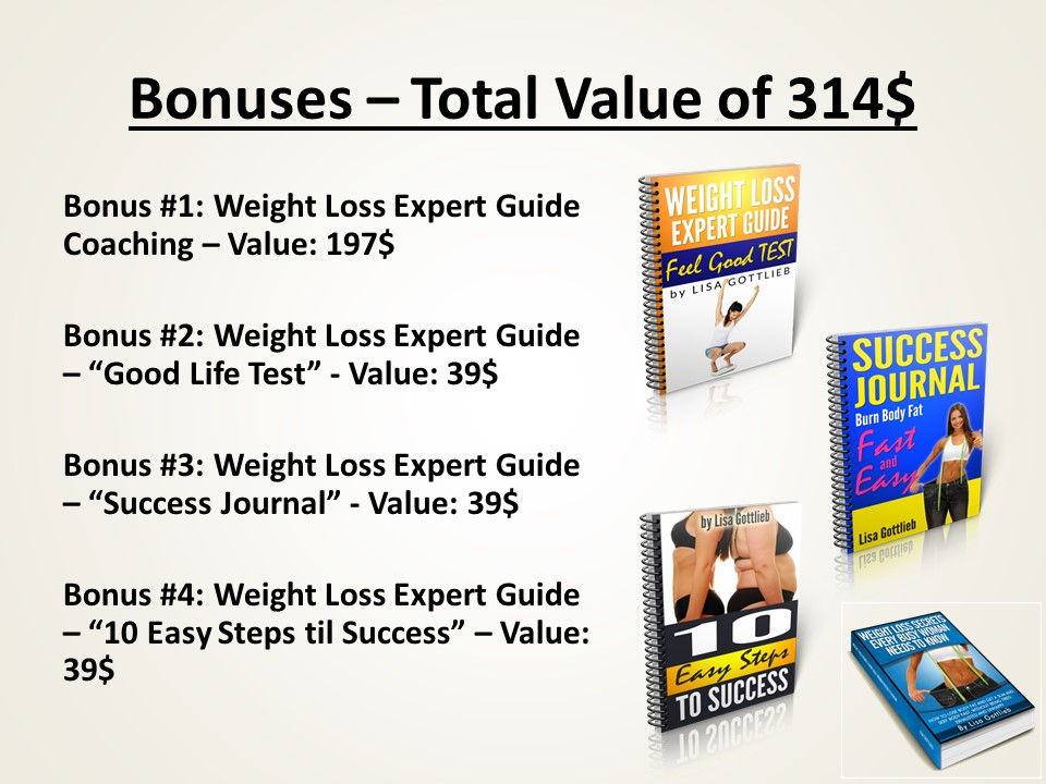 Weight Loss Expert Guide Bundle