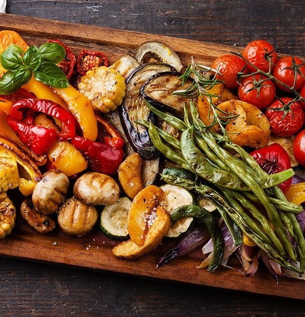 Grilled Vegetables Eat Healthy Stay Healthy and Fit Agree? Doublehellip